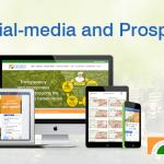 Social-media and Prosperity