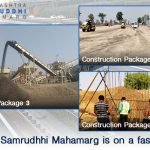 The work of Samrudhhi Mahamarg is on a fast track! - Part 1